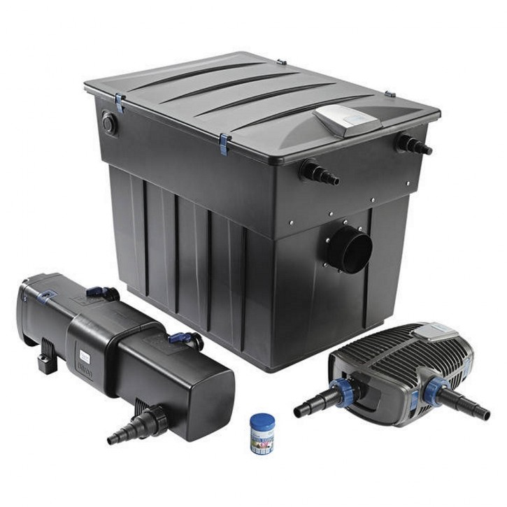 Oase BioTec ScreenMatic² Set 90000 Teichfilter Durchlauffilter + Pumpe + UVC