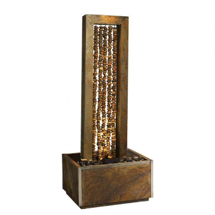 AUSSTELLUNGSSTÜCK - NUR ABHOLUNG! Zimmerbrunnen Collier 150 LEX Wasserwand inkl. Beleuchtung