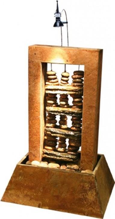 Zimmerbrunnen Maya 55 Feng Shui Schieferbrunnen inkl. Beleuchtung