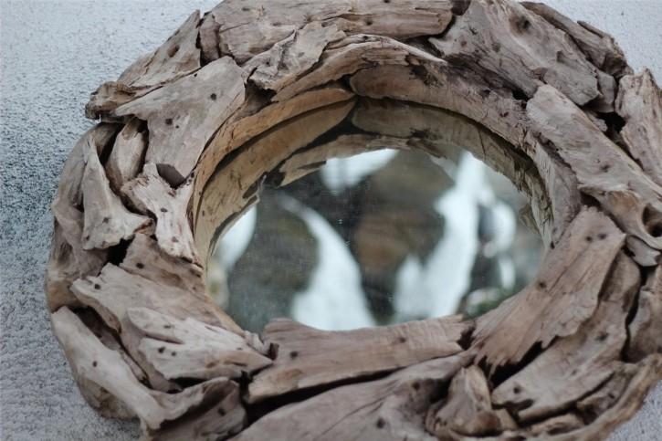 Spiegel Extreme Wood von 'Riverdale' | Treibholz Teakholz Vintage Landhaus