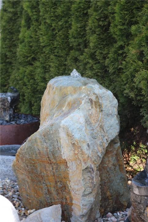 Wasserspiel SET Quellstein Porphyr 97 Gartenbrunnen Springbrunnen