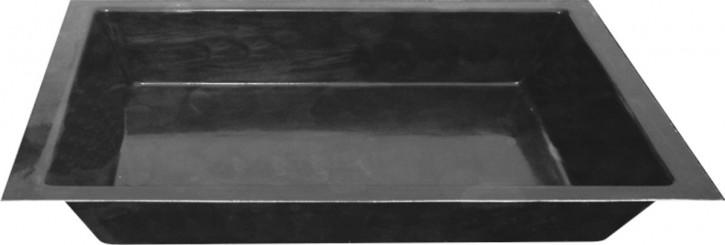 Teichbecken Fiberglas GFK Becken 240/180/52cm 1460 Liter rechteckig