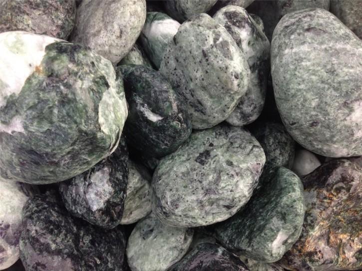 """Ziersteine/Zierkies """"Grundpreis 1,49 €/kg"""" Verde Alpi Ciottoli 20/50 im 10 Kg Sack"""
