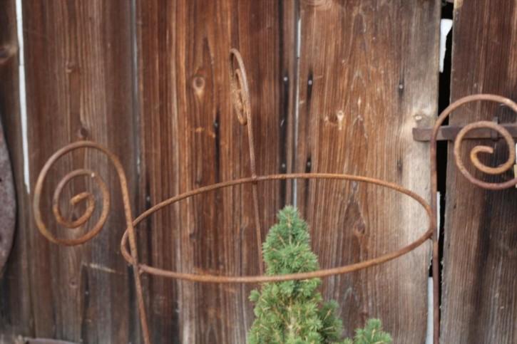 Staudenhalter Edelrost | Gartenstecker Pflanzhilfe Rosenstab Shabby, Landhaus, Cottage & Vintage