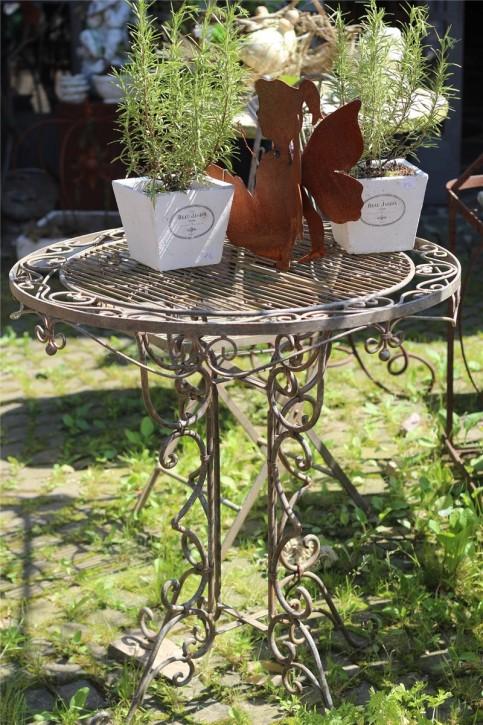 Tisch Eisen antik patiniert | Gartenmöbel Shabby, Landhaus & Vintage