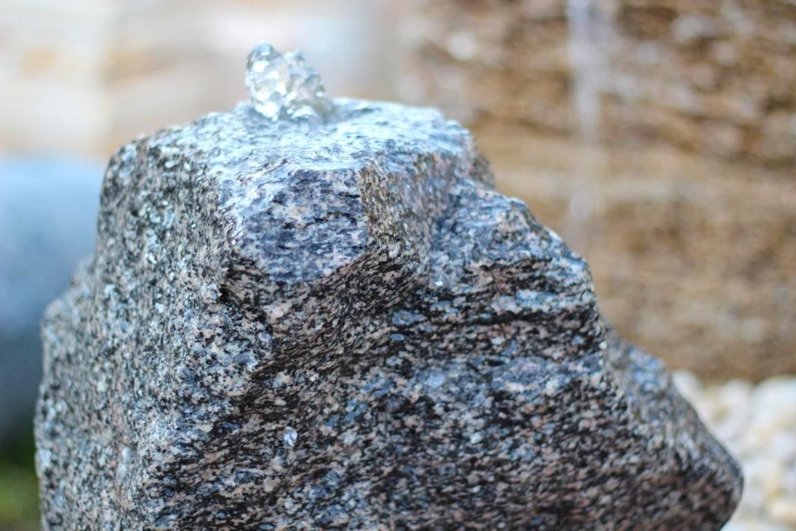 wasserspiel set quellstein granit anthrazit 52cm. Black Bedroom Furniture Sets. Home Design Ideas