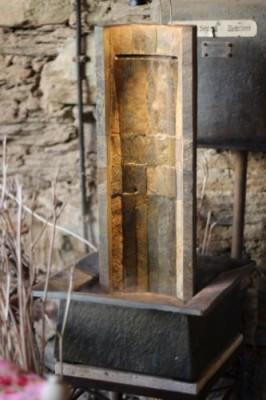 Zimmerbrunnen Oasis 60 | Wasserwand Feng Shui Schieferbrunnen