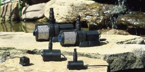 PE Becken mit GFK Deckel Ø120x35   Pumpe Oase Aquarius Universal 5000     Schlauch